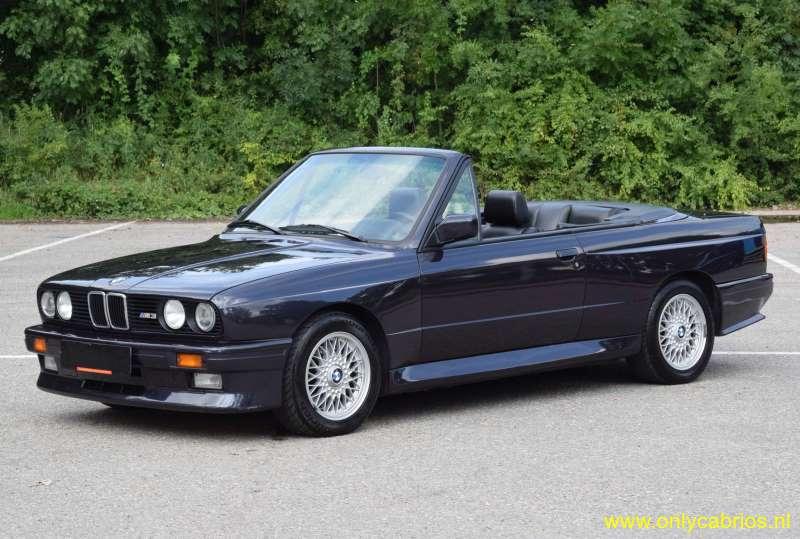 1991 bmw m3 e30 only cabrios