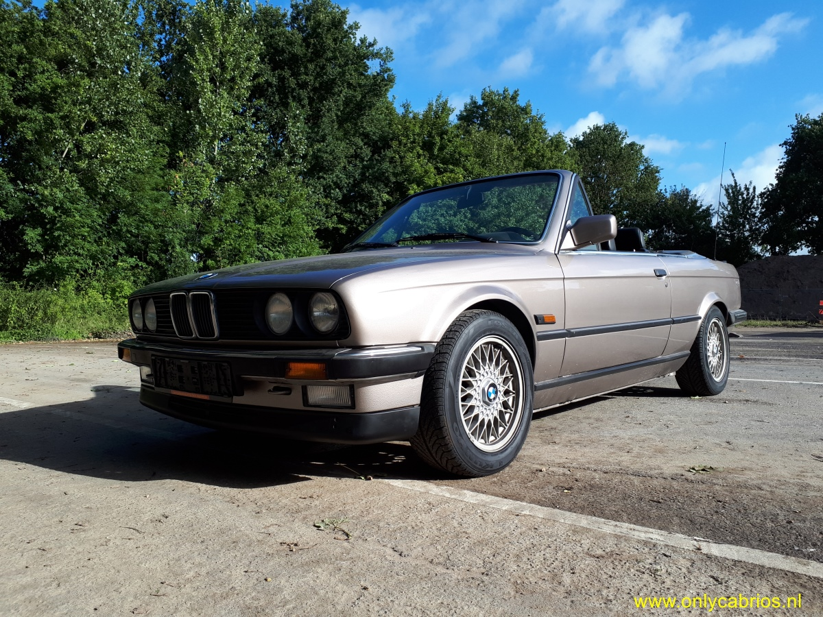 1987 bmw 325i e30 only cabrios. Black Bedroom Furniture Sets. Home Design Ideas