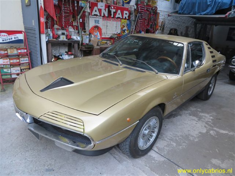 1975 alfa romeo montreal only cabrios. Black Bedroom Furniture Sets. Home Design Ideas