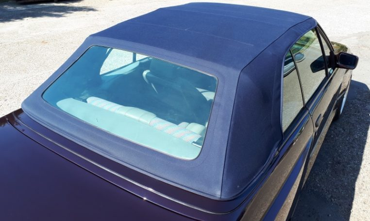 BMW M3 E30 Cabrio Macaoblauw Met Grijs Half Leder Cecotto Interieur 115000 Km