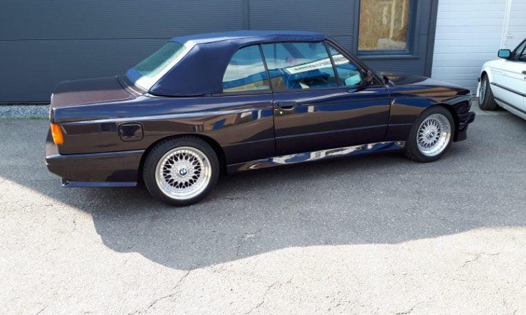 BMW M3 E30 Cabrio 115000 Km Set Nieuwe Extra Foto's