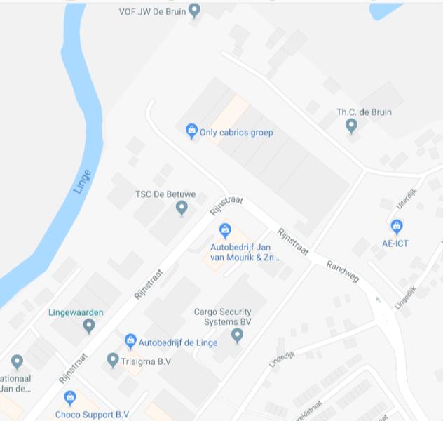 GoogleMaps_onlyCabrios.nl