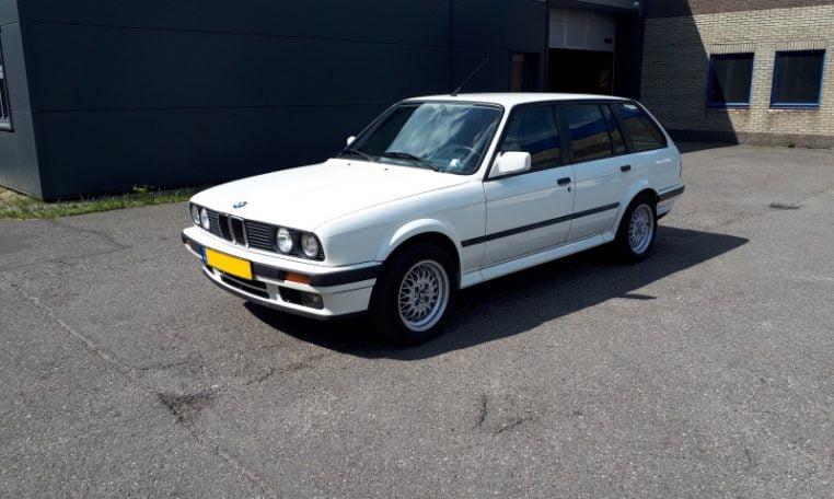 BMW 325ix Touring E30 Alpinwit 306000 Km