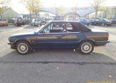 BMW 325i Cabrio E30 Diamantzwart Met Zwart Leder 107000 Km Airco