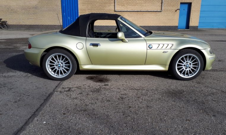 BMW Z3 Cabrio Goud 224000 Km