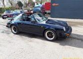 Porsche 911 Carrera 3,2 Targa Donkerblauw 1987