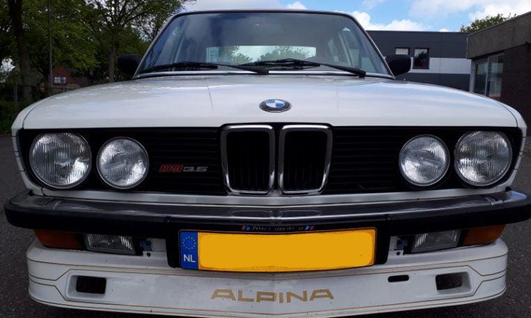 Alpina B9 3.5 E28 245 Pk Alpinwit 246000 Km