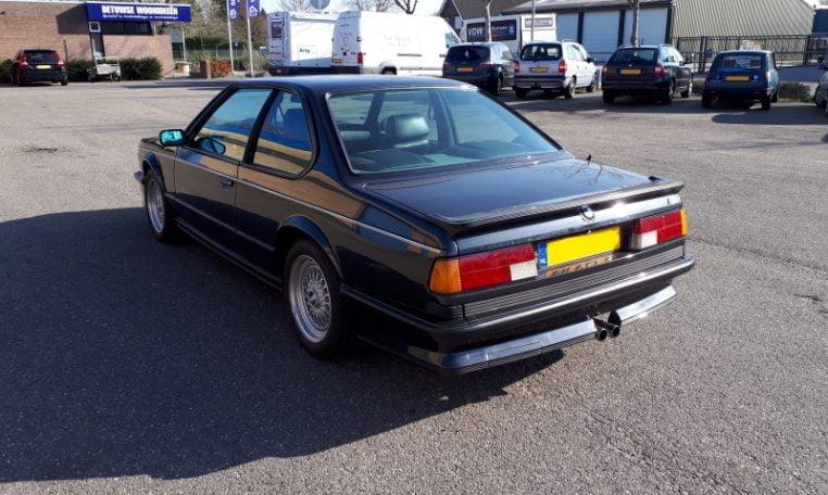 BMW M635 CSI Diamantzwart Met Zwart Leder 133000 Km