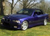 BMW M3 E36 Cabrio Blauw 163000 Km