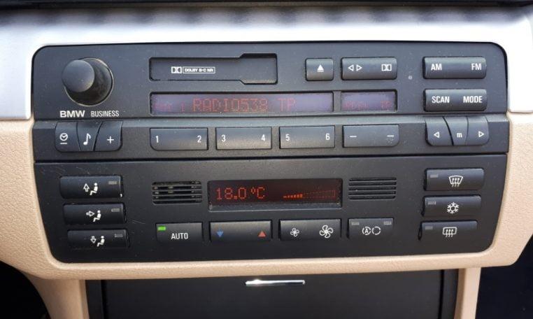 BMW 330ci Cabrio E46 Donkerblauw 50000 Km Beige Leder