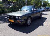 BMW 325i Cabrio E30 Delfingrijs Metallic Zwart Leder
