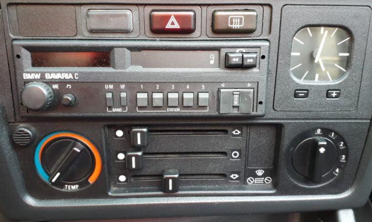 BMW 325i E30 Lachssilber Metallic 170000 Km Zwart Leder