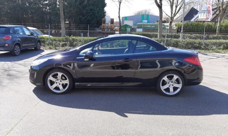 Peugeot 308CC Zwart Met Zwart Leder 117000 Km