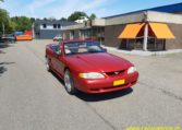 Ford Mustang GT 5.0 HO Cabrio Bordeauxrood 96000 Mijl