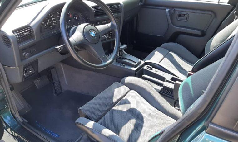 BMW 325ix Touring E30 Islandgrün Metallic Met Grijs Stof 158000 Km