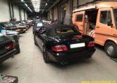 Mercedes CLK 430 V8 Zwart Metallic Met Geel Leder