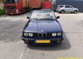 BMW 318i Cabrio E30 Donkerblauw Met Beige Leder 219000 Km