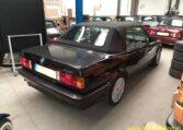 BMW 325i Cabrio E30 Diamantzwart Beige Leder 151000 Km 03 (