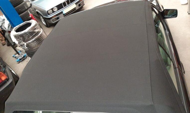BMW 325i Cabrio E30 Diamantzwart Beige Leder 151000 Km 04 (