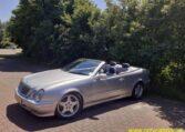 Mercedes 320 CLK Cabrio Zilvergrijs 187000 Km Grijs Blauw Leder